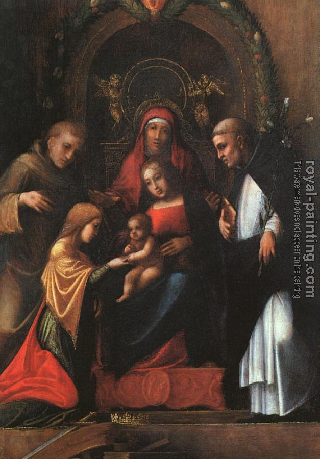 Correggio : The Mystic Marriage of St Catherine