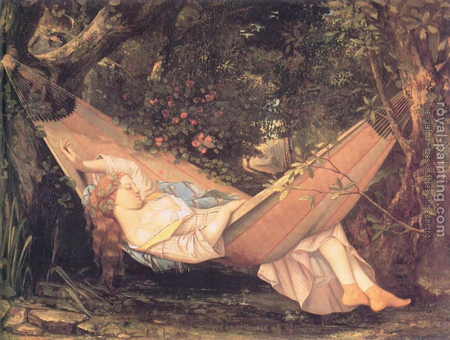 Gustave Courbet : The Hammock