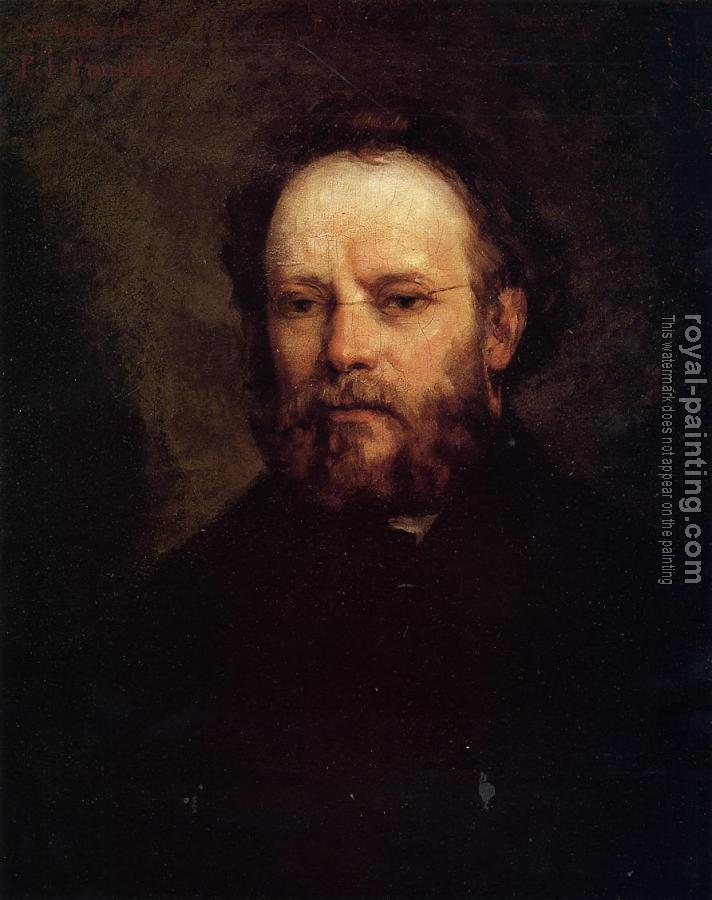 Gustave Courbet : Portrait of Pierre-Joseph Proudhon
