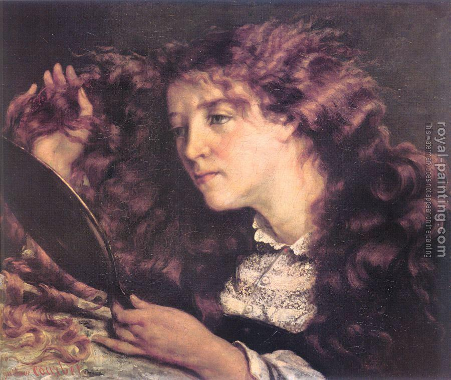 Gustave Courbet : Portrait of Jo, the Beautiful Irish Girl