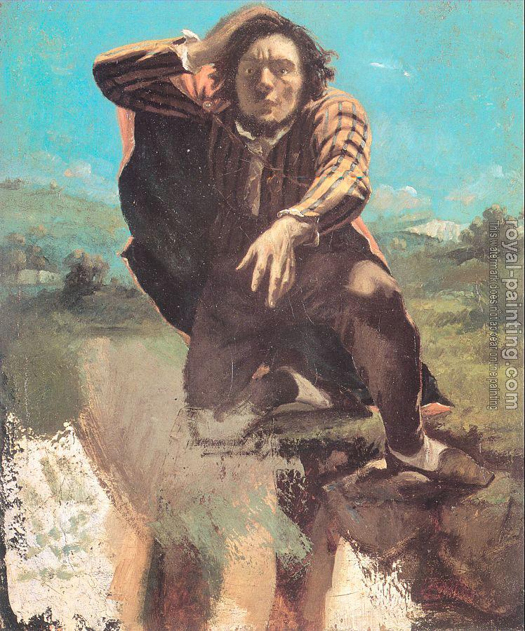 Gustave Courbet : The Desperate Man (The Man Made by Fear)