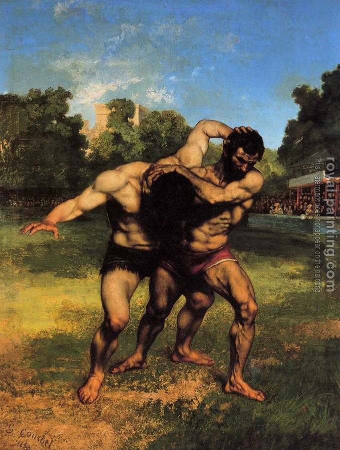 Gustave Courbet : The Wrestlers