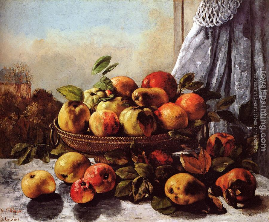 Gustave Courbet : Still Life: Fruit
