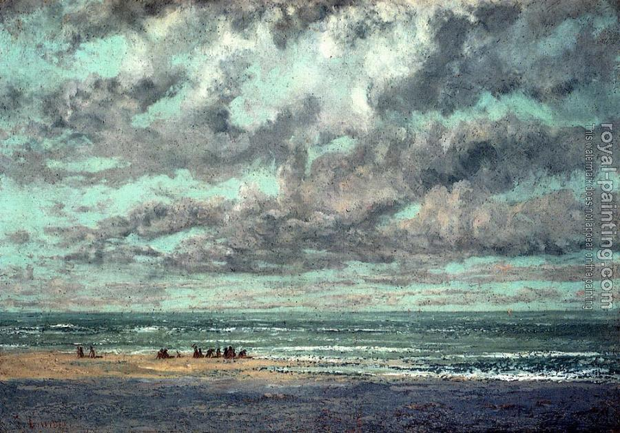 Gustave Courbet : Marine, Les Equilleurs