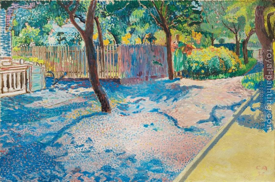 Bilder Blumengarten blumengarten by cuno amiet painting reproduction