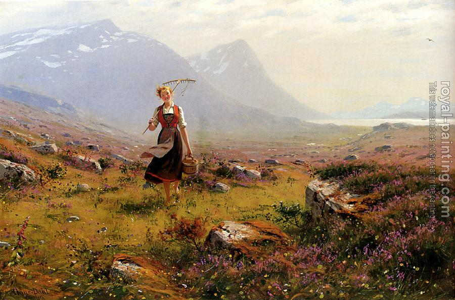 Hans Dahl : Returning From The Fields