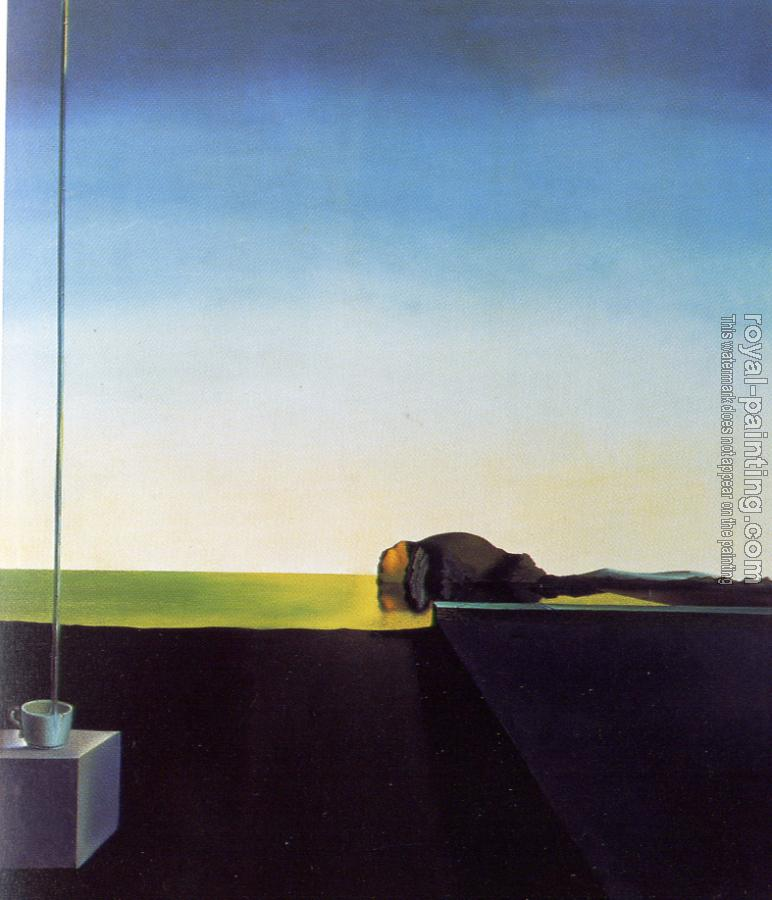 Salvador Dali : The True Painting of The Isle of the Dead by Arnold Bocklin at the Hour of the Angelus