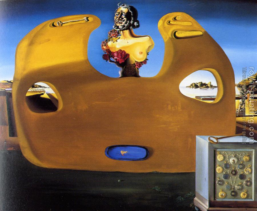 Salvador Dali : Memory of the Child-Woman