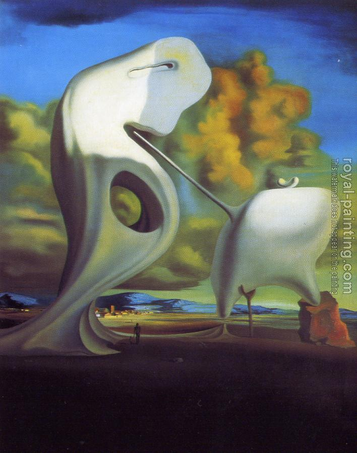 Salvador Dali : The Architectural Angelus of Millet