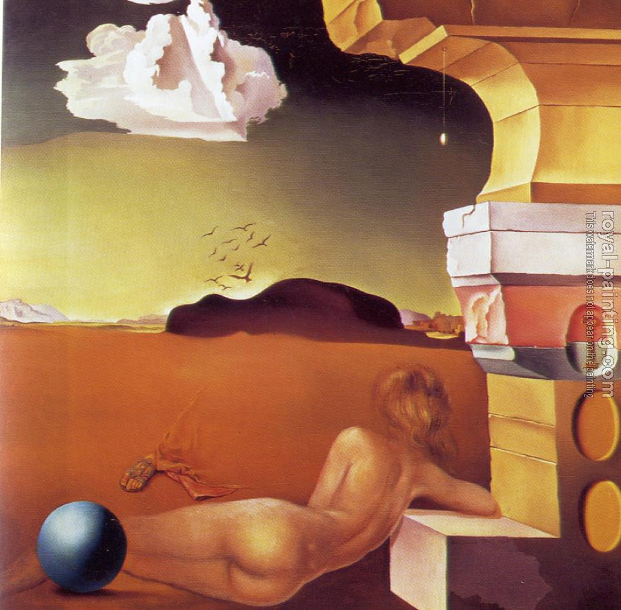 Salvador Dali : Nude on the Plain of Rosas