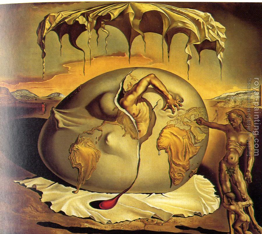 Salvador Dali : Geopolitical Child Watching the Birth of the New Man