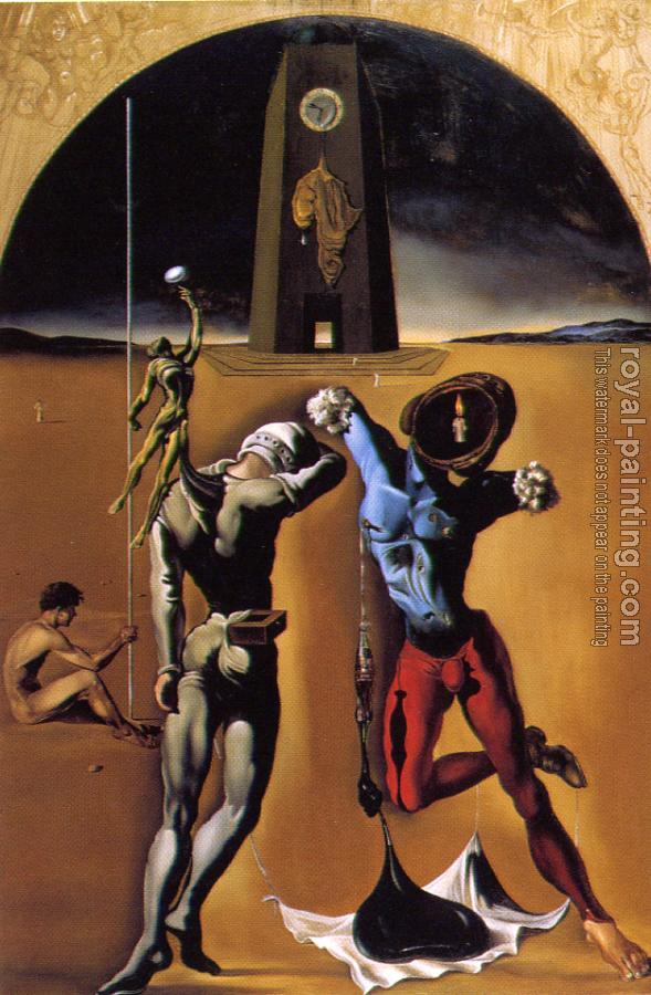 Salvador Dali : Poetry of America-The Cosmic Athletes