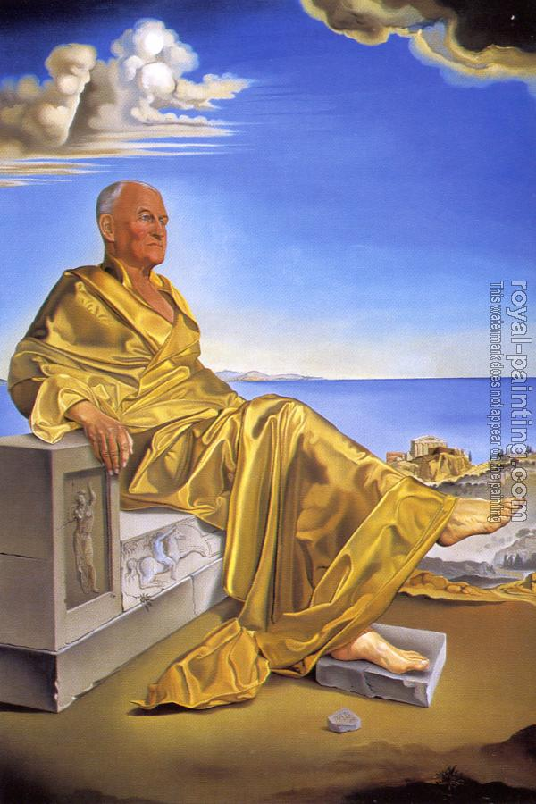 Salvador Dali : La Turbie-Sir James Dunn Seated