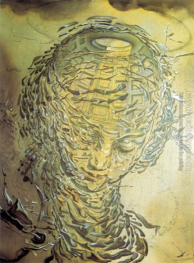 Salvador Dali : Raphaelesque Head Exploded