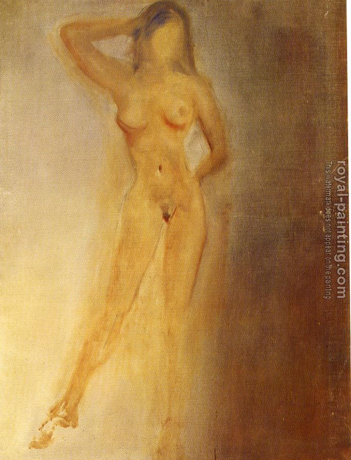 Salvador Dali : Study of a Female Nude