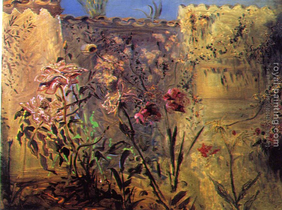 Salvador Dali : The Patio of Port Lligat