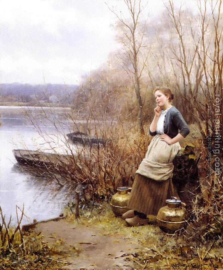 Daniel Ridgway Knight : A Lovely Thought