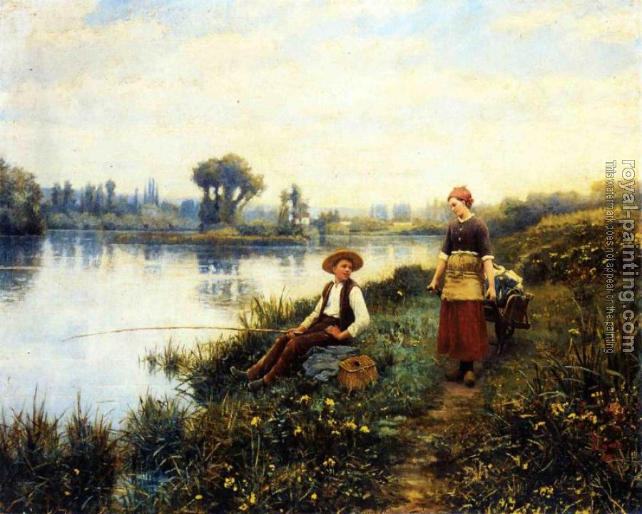 Daniel Ridgway Knight : A Passing Conversation