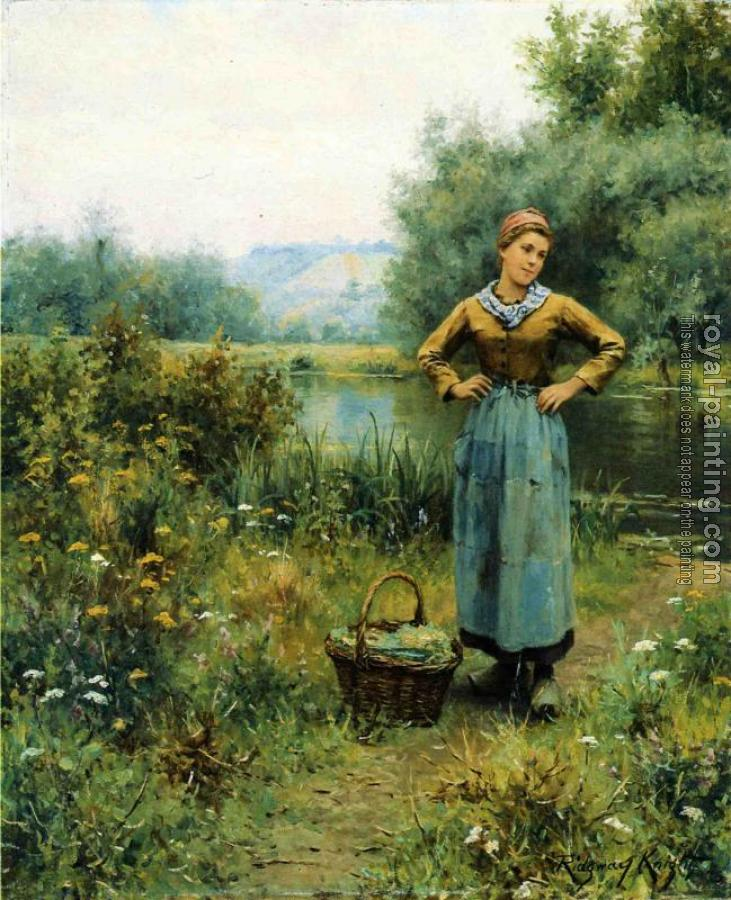 Girl in a Landscape