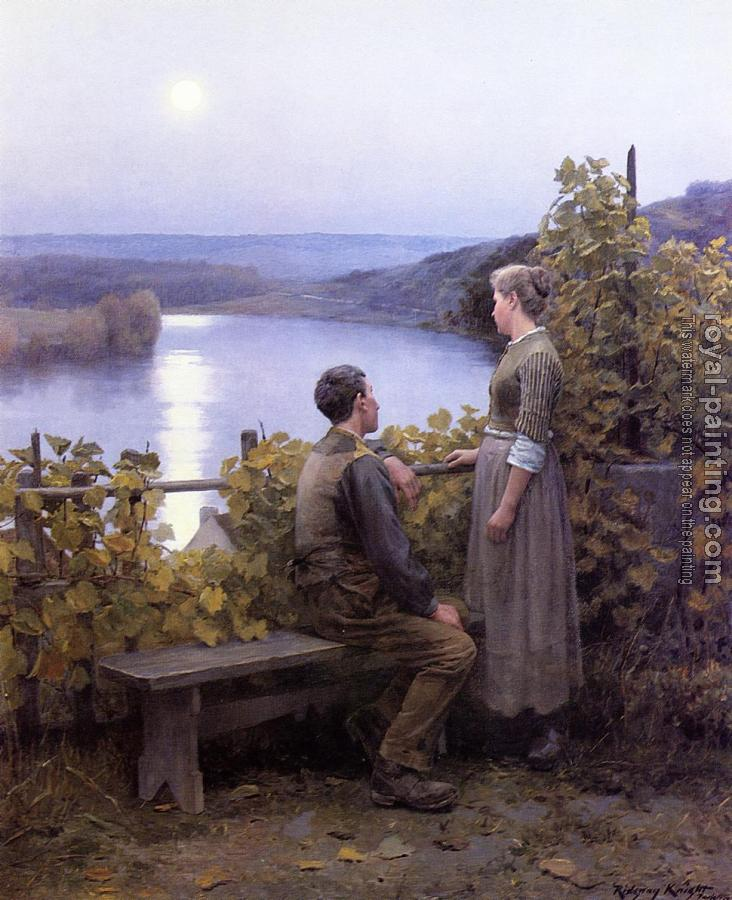 Daniel Ridgway Knight : Summer Evening