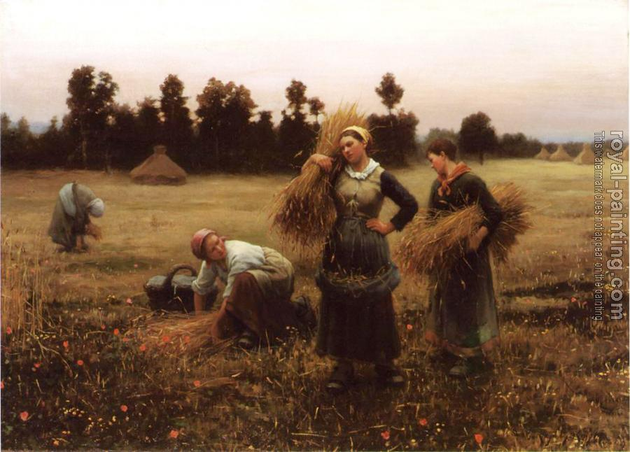 Daniel Ridgway Knight : The Harvesters
