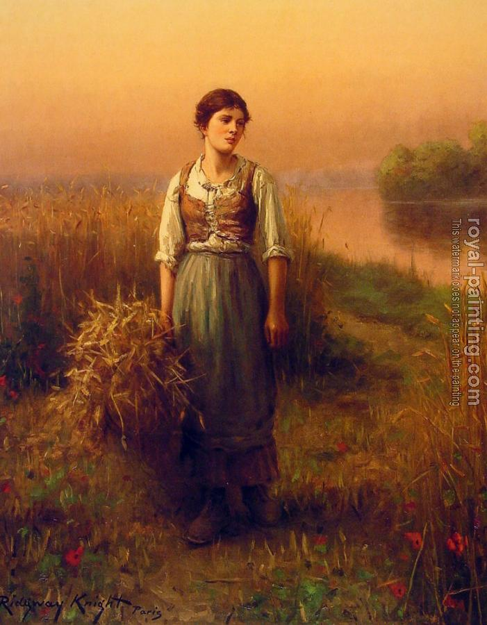 Daniel Ridgway Knight : Normandy Maid
