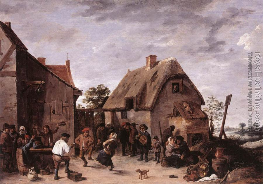 David Teniers The Younger : Flemish Kermess