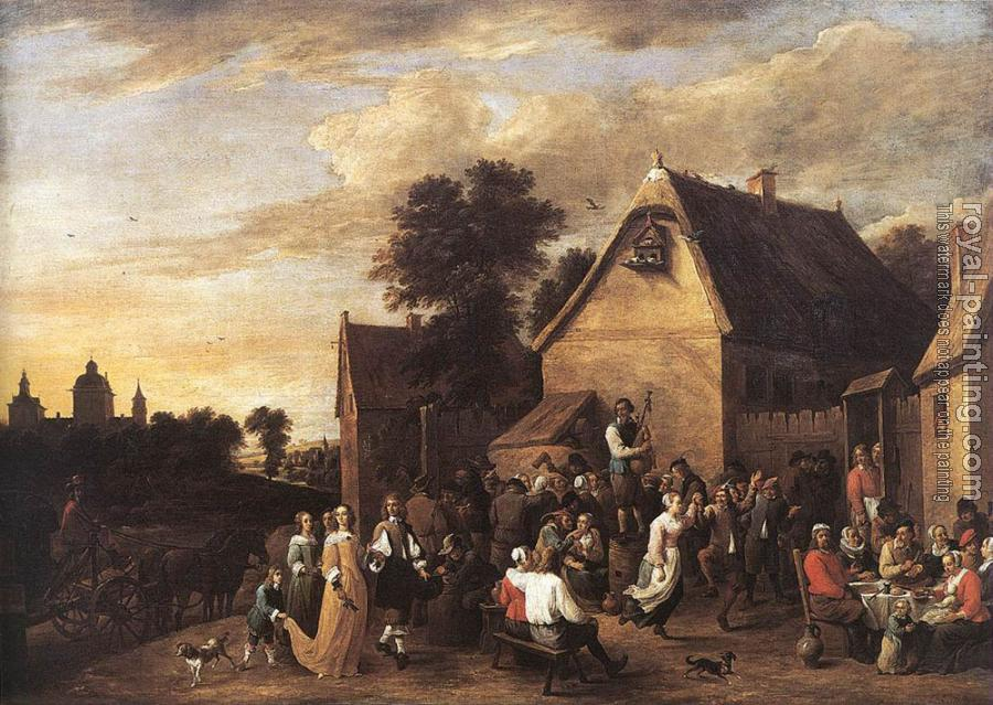 David Teniers The Younger : Flemish Kermess II