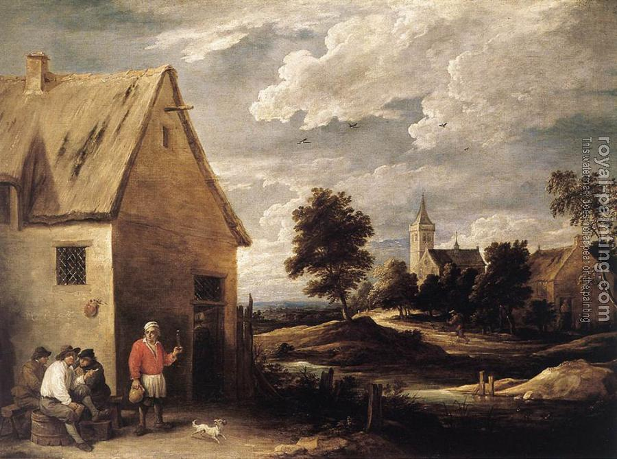 David Teniers The Younger : Village Scene