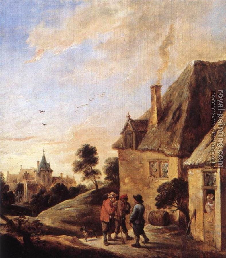 David Teniers The Younger : Village Scene II