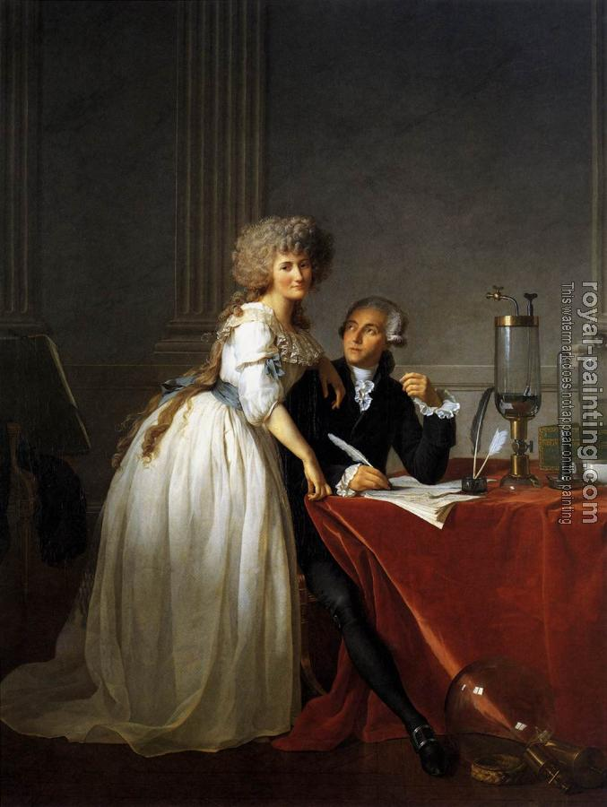 Jacques-Louis David : Portrait of Monsieur Lavoisier and His Wife