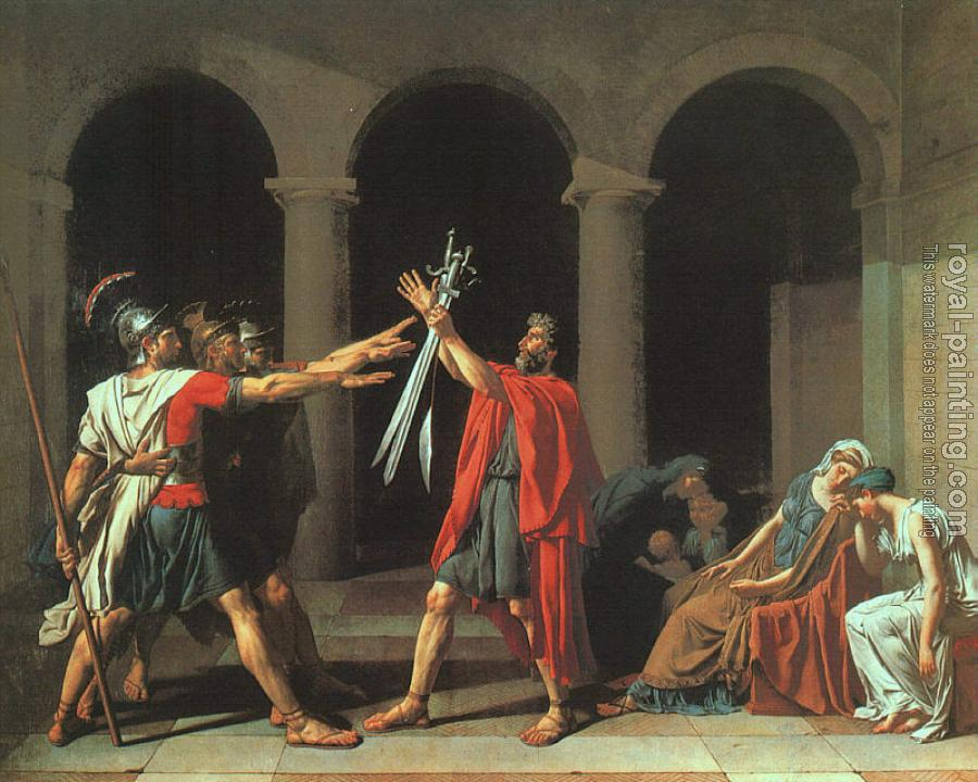 Jacques-Louis David : The Oath of the Horatii