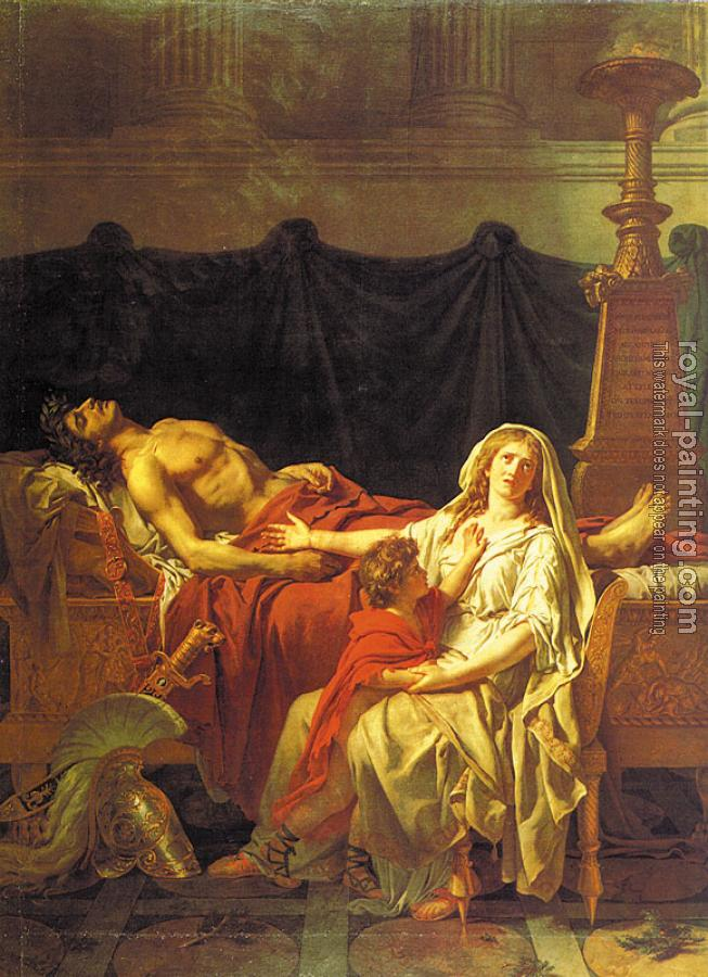 Jacques-Louis David : Andromache Mourning Hector
