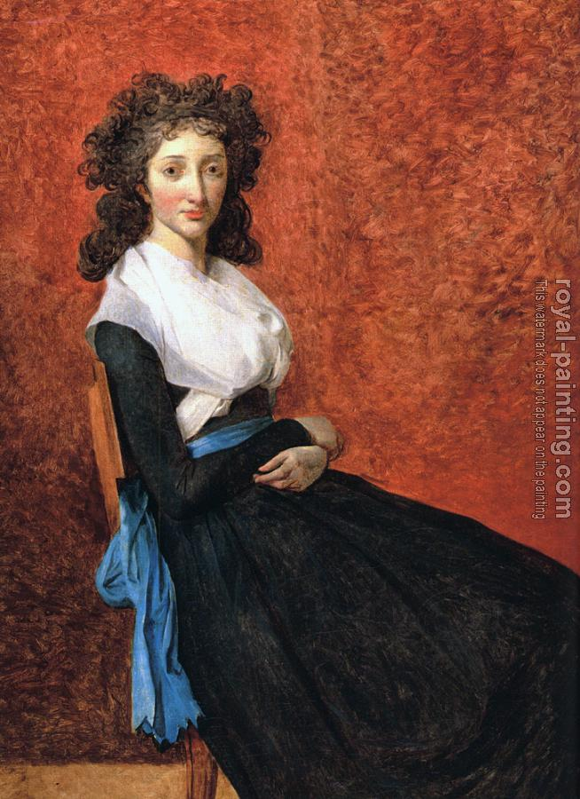 Jacques-Louis David : Portrait of Louise Trudaine
