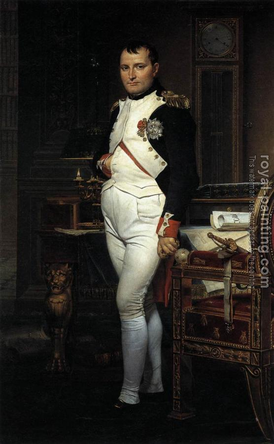 Jacques-Louis David : Napoleon in his Study