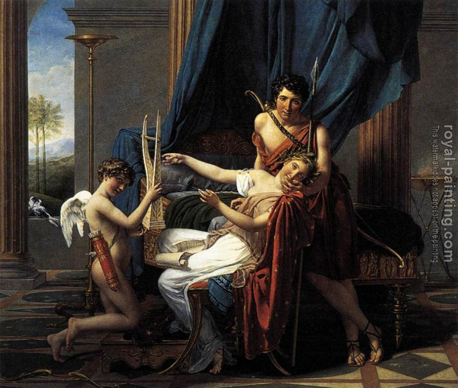 Jacques-Louis David : Sappho and Phaon