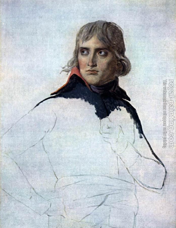 Jacques-Louis David : Portrait of General Bonaparte