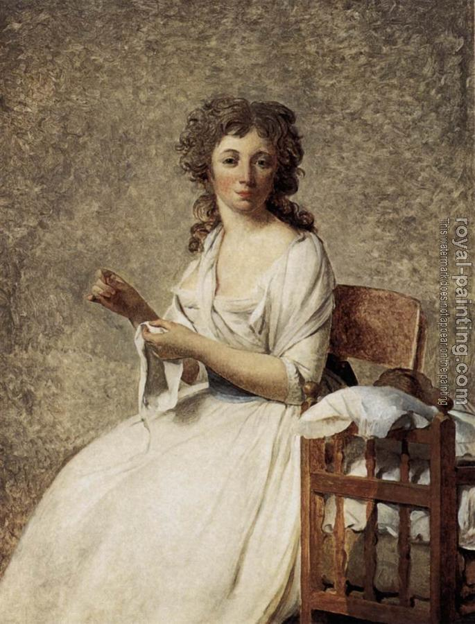 Jacques-Louis David : Portrait of Madame Adelaide Pastoret