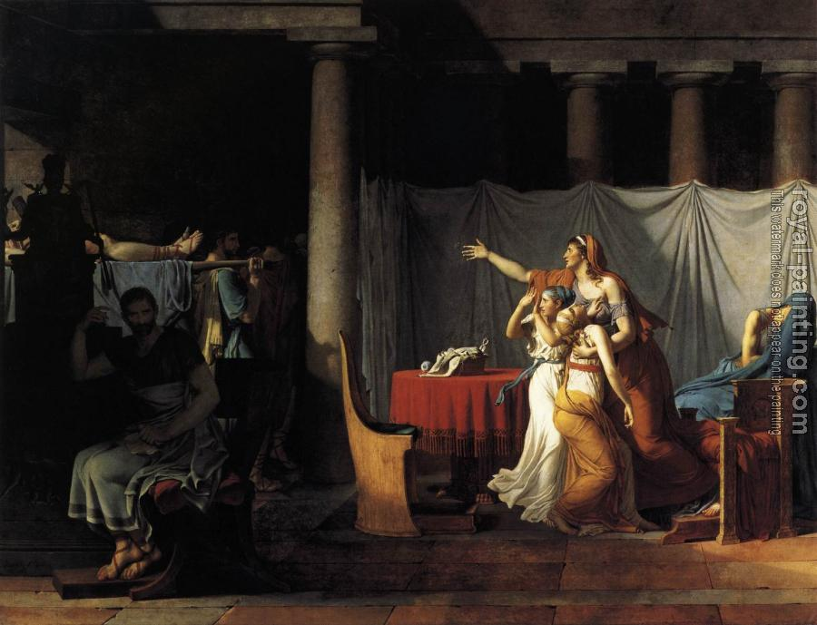 Jacques-Louis David : The Lictors Returning to Brutus the Bodies of his Sons