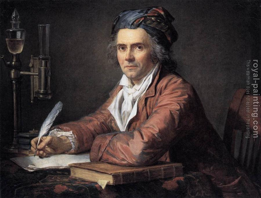 Jacques-Louis David : Portrait of Doctor Alphonse Leroy