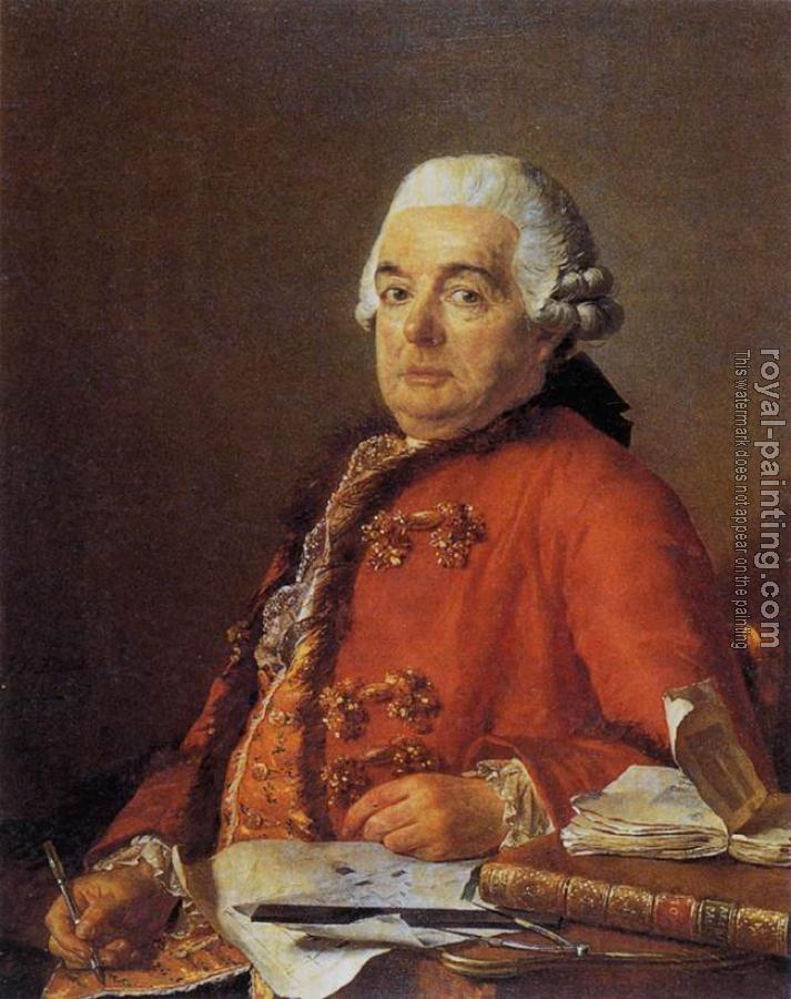 Jacques-Louis David : Portrait of Jacques-Francois Desmaisons