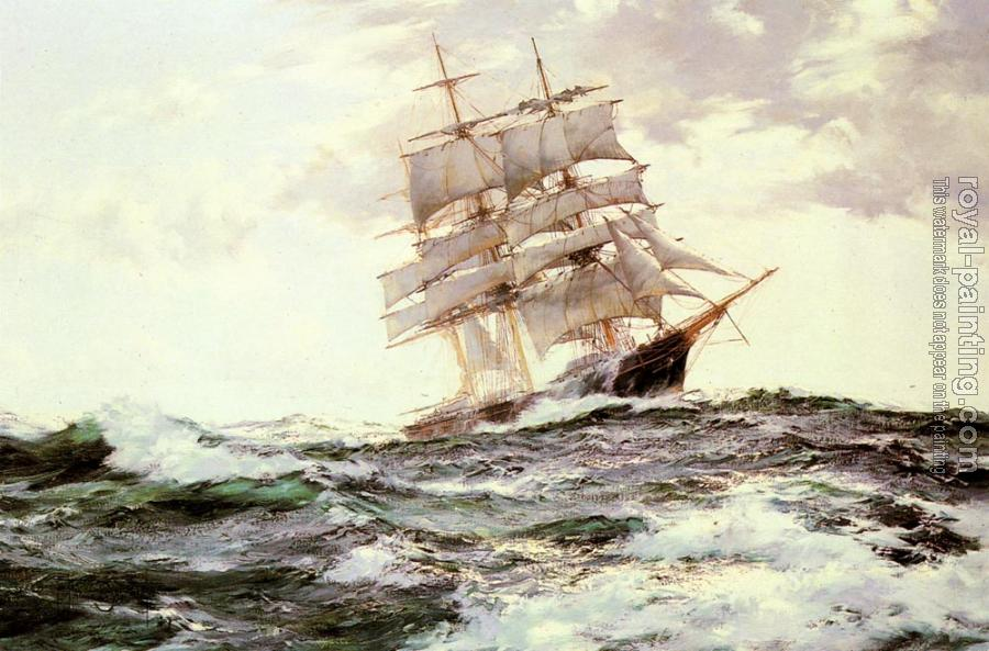 Montague Dawson : The New Englander, The Forest Queen of Boston