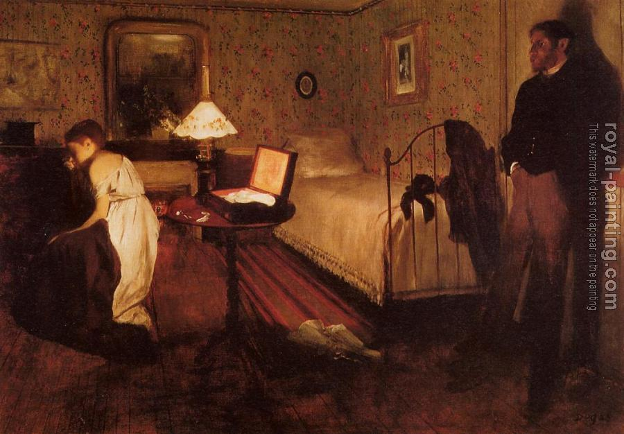 Edgar Degas : The Rape(Interior)