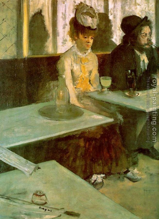 Edgar Degas : The Absinthe Drinker(In a Cafe)