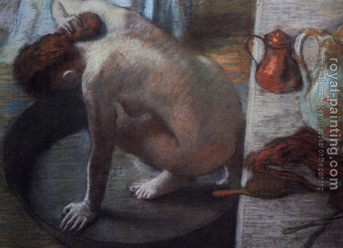 Edgar Degas : The Tub
