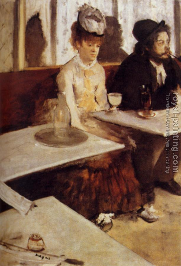 Edgar Degas : The Absinthe Drinker