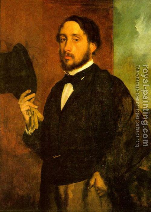 Edgar Degas : Self Portrait