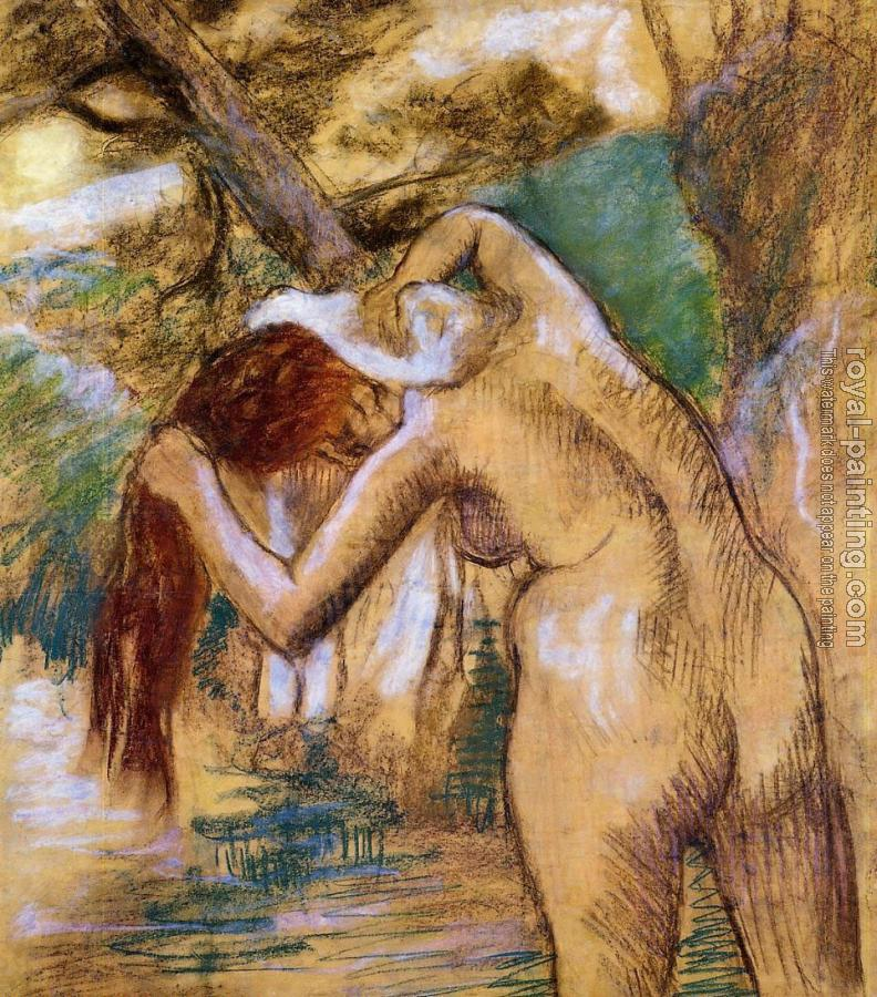 Edgar Degas : Bather by the Water
