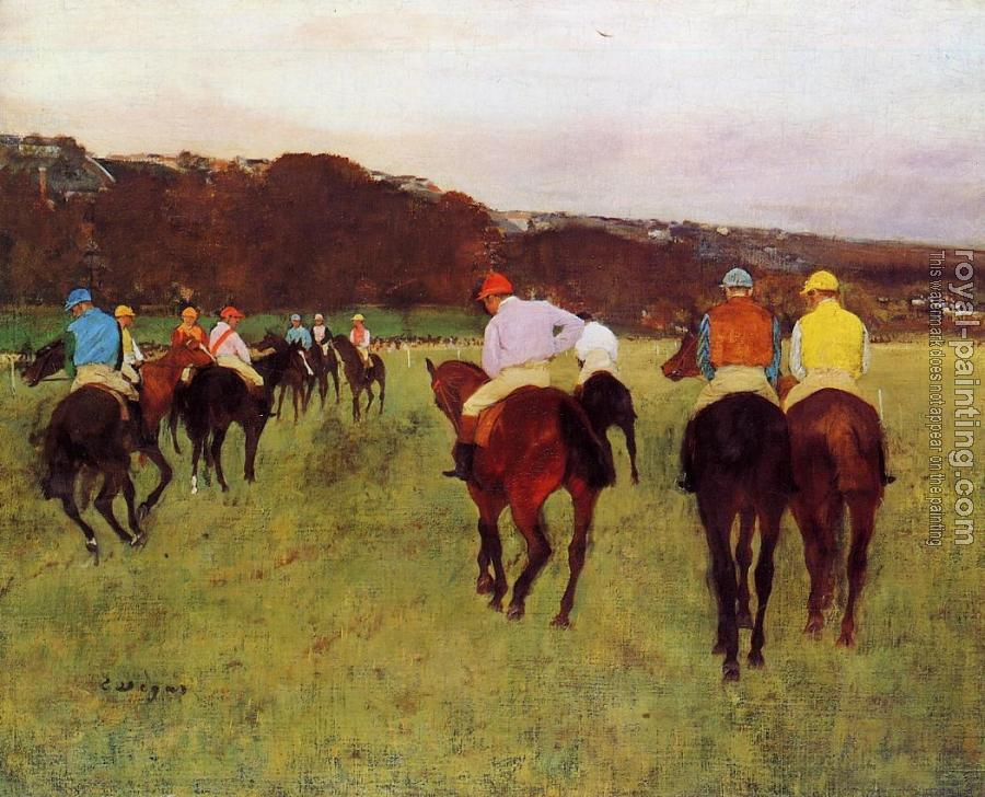 Edgar Degas : Before the Start