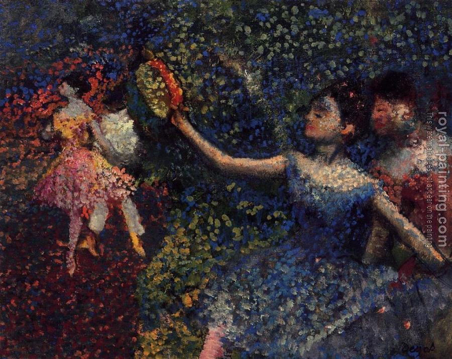 Edgar Degas : Dancer and Tambourine